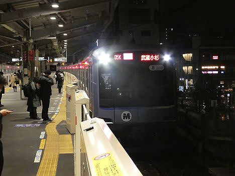 【ダイヤ改正でどうなった】横浜高速鉄道Y500系の急行 武蔵小杉行き