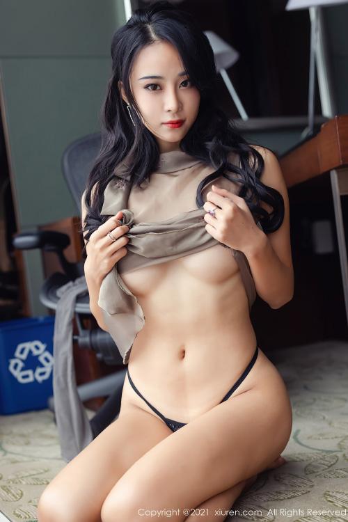 [XiuRen秀人网] 2021.04.25 No.3343 蓝夏Akasha