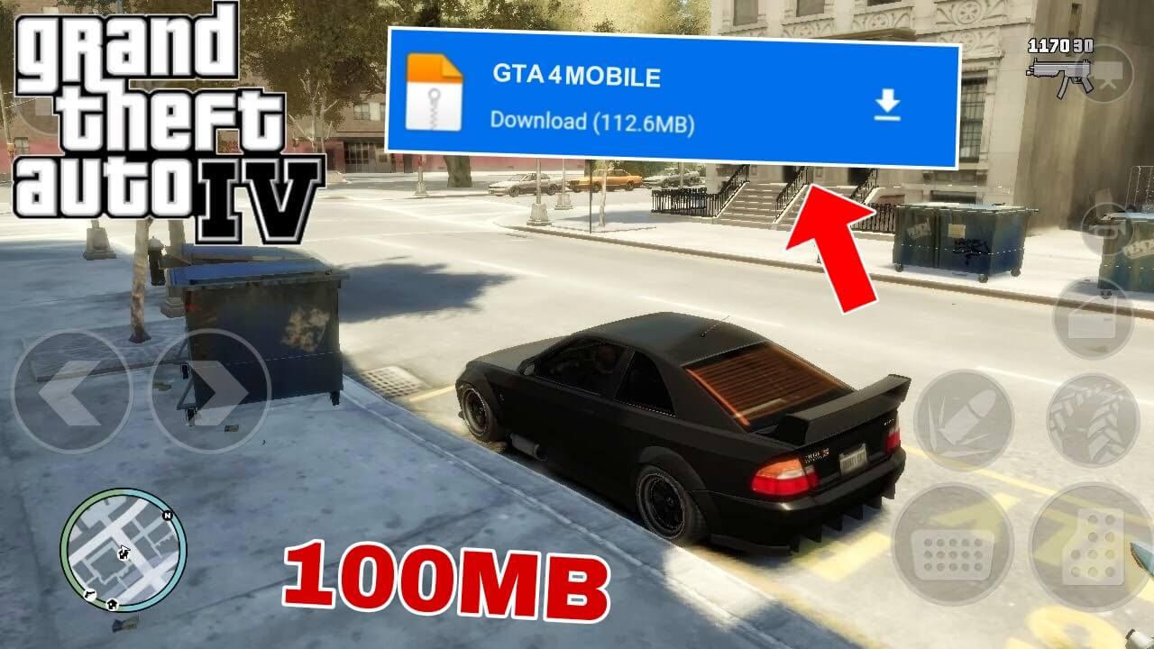 رسميا ! شرح تحميل لعبة GTA IV الأصلية للأندرويد من ميديافاير و بدون اعلانات | GTA 4 MOBILE APK+OBB