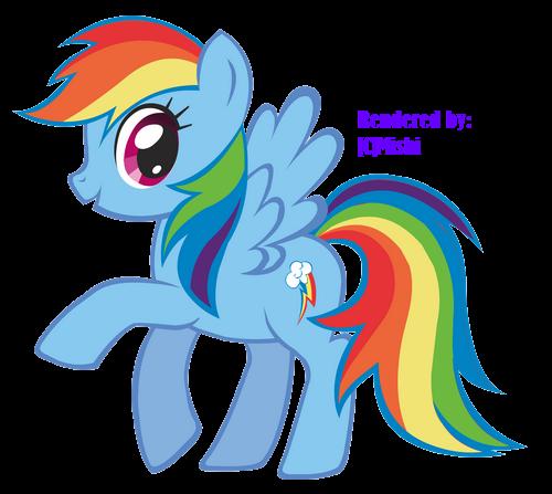Render My Little Pony