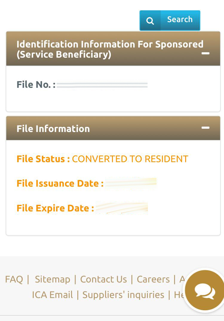 uae visa status online with passport number and date of birth