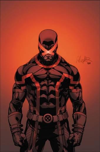 Portada de cómic con Cíclope (X-Men)