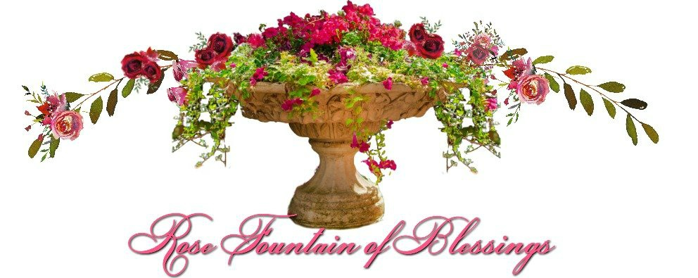 Rose Fountain Of Blessings