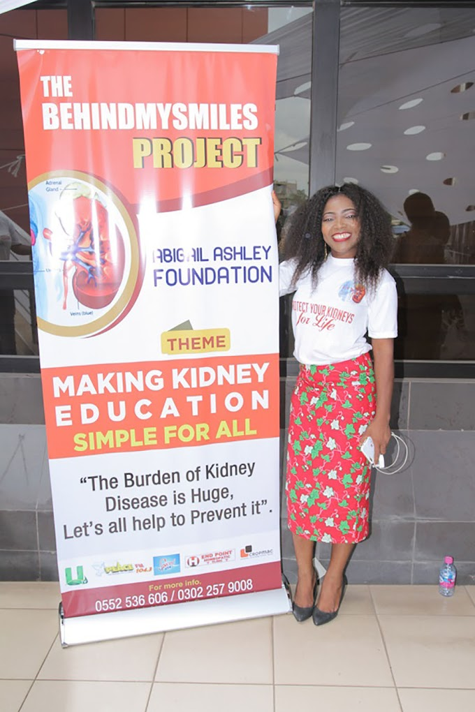 Photos: UTV's Abigail Ashley launches 'The behind my Smile Project'