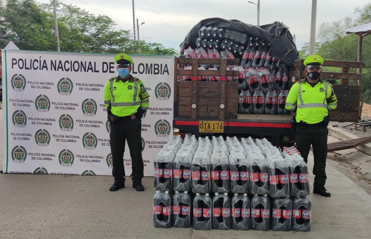 hoyennoticia.com, Policía declaró guerra al contrabando en La Guajira