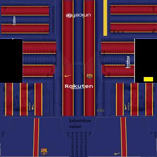 Kit DLS 2019 Barcelona FC Kits 20/21