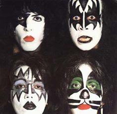 Kiss Face Paint History