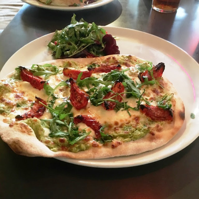 where to eat out veggie newcastle pizza