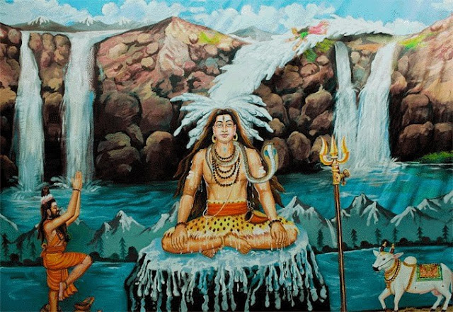 lord shiva and ganga history, Ganga and shiva story