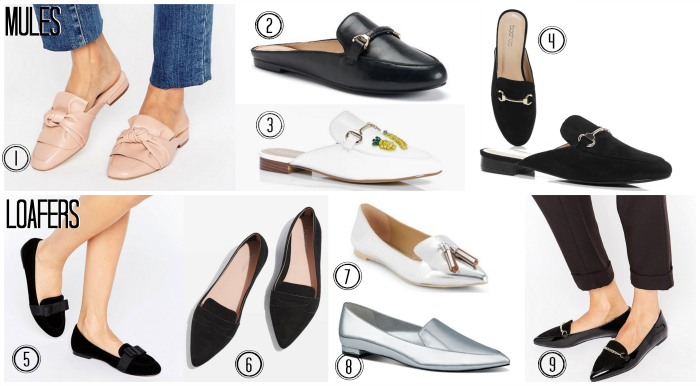 spring 2017 Loafers and Mules trend