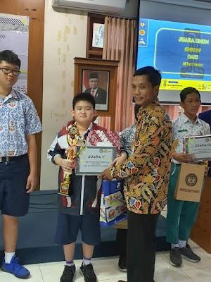 Raymond, Siswa SMP Kalam Kudus, Menorehkan Prestasi dalam LSM Tingkat Nasional