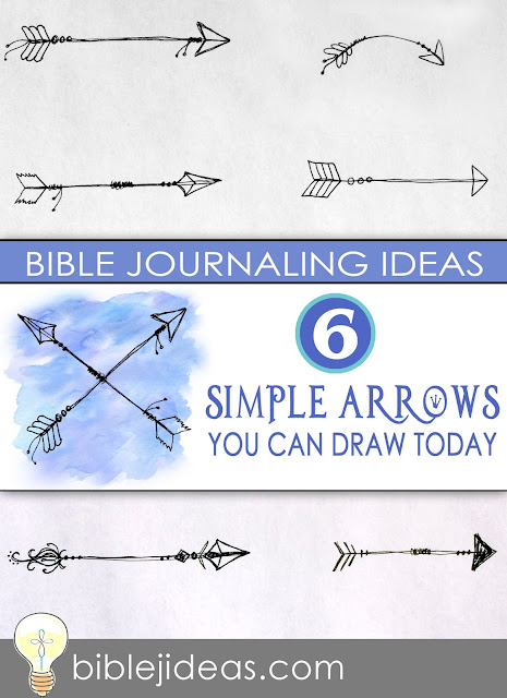 Bible Journaling Ideas: 6 Simple Arrows You Can Draw Today