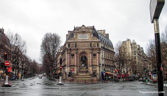 Bulevar Saint-Michel, Paris