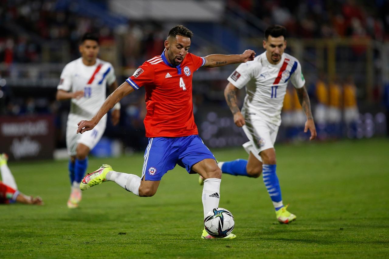 Chile y Paraguay en Clasificatorias a Catar 2022, 10 de octubre de 2021