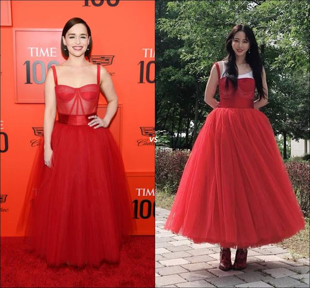 👗Emilia Clarke vs Han Ye-Seul