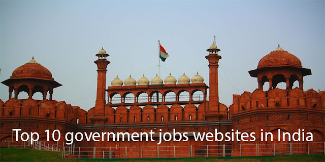 Top 10 government jobs websites in India