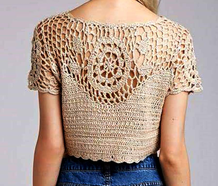 5d75dabec510 www.fhinotrico.blogspot.com  Blusa em croche com motivo