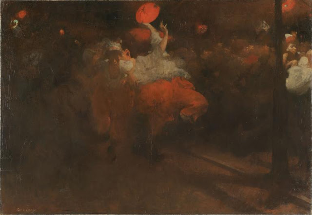 Obra de arte siglo XIX, pintor Jacobus van Looy.