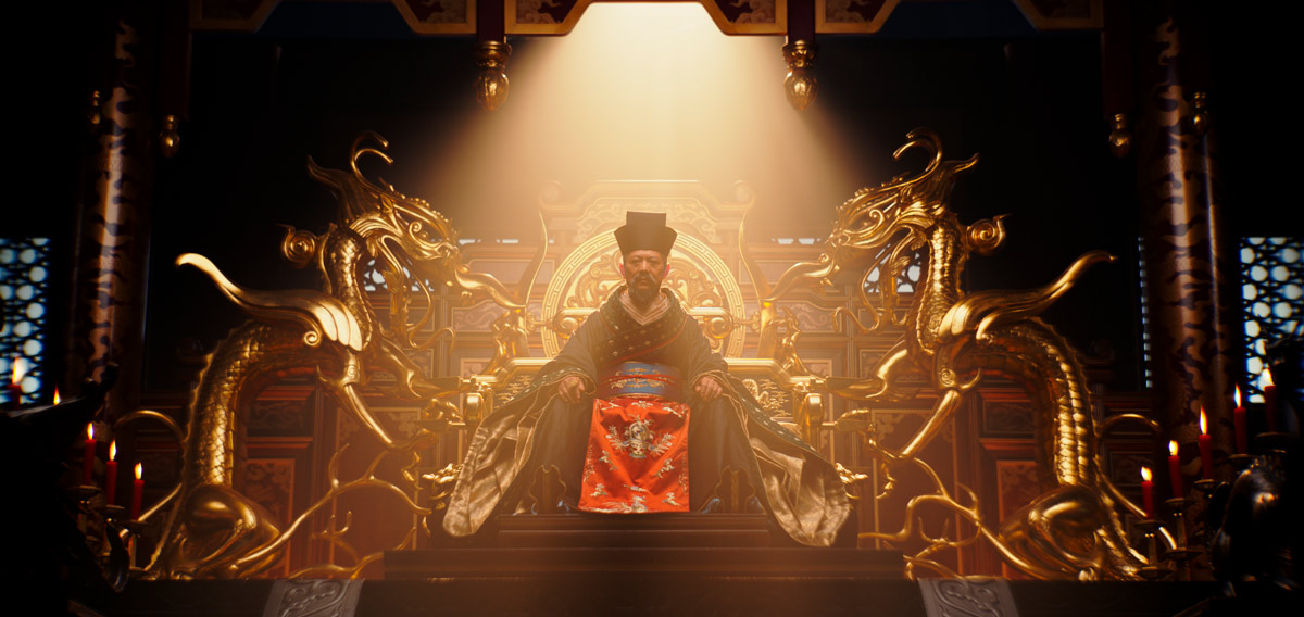 Mulan - Disney 2020 - El emperador