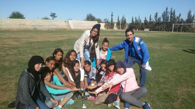 فريق فئة الصغيرات للكرة الطائرة لإعدادي وادي سوس بأيت ملول يتأهل لنهائيات البطولة الوطنية للرياضات الجماعية بمراكش
