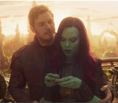 How did Peter Quill find out about Gamora's death?