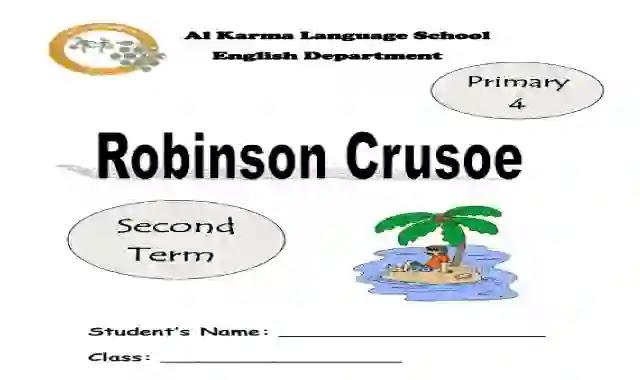 شيتات اسئلة واجابات بالترجمة على قصة Robinson Crusoe للمدارس التجريبية