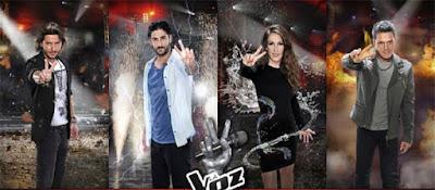 Cuarta gala de La Voz 4, miercoles 12 de octubre de 2016