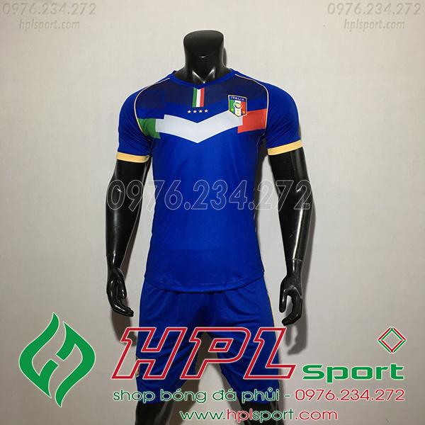 Áo Đội Tuyển Italia Nha Màu xanh 2020