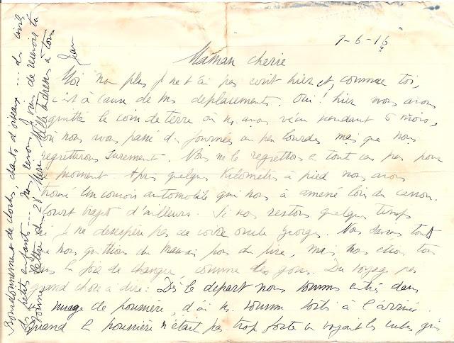 1914 1918 une correspondance de guerre vraux 1er juin 1916 jean sa m re lettre cod e. Black Bedroom Furniture Sets. Home Design Ideas