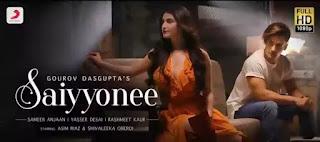 SAIYYONEE Lyrics in English - Yasser Desai