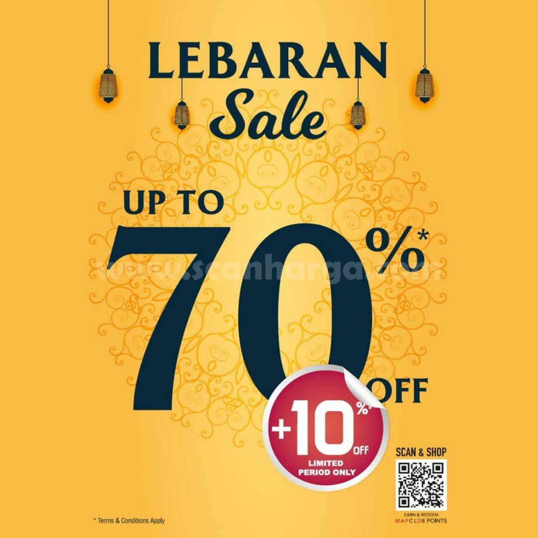 Promo SPORTS STATION Special LEBARAN SALE up to 70 Off