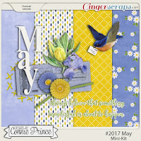 kit : #2017 May Mini by Connie Prince