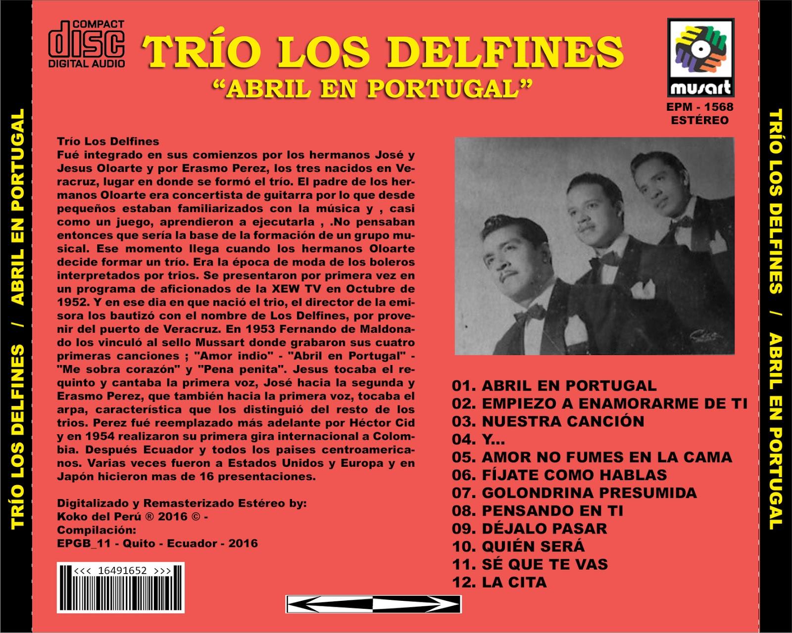 LETRA ABRIL EN PORTUGAL - Alberto Cortez | Musica.com