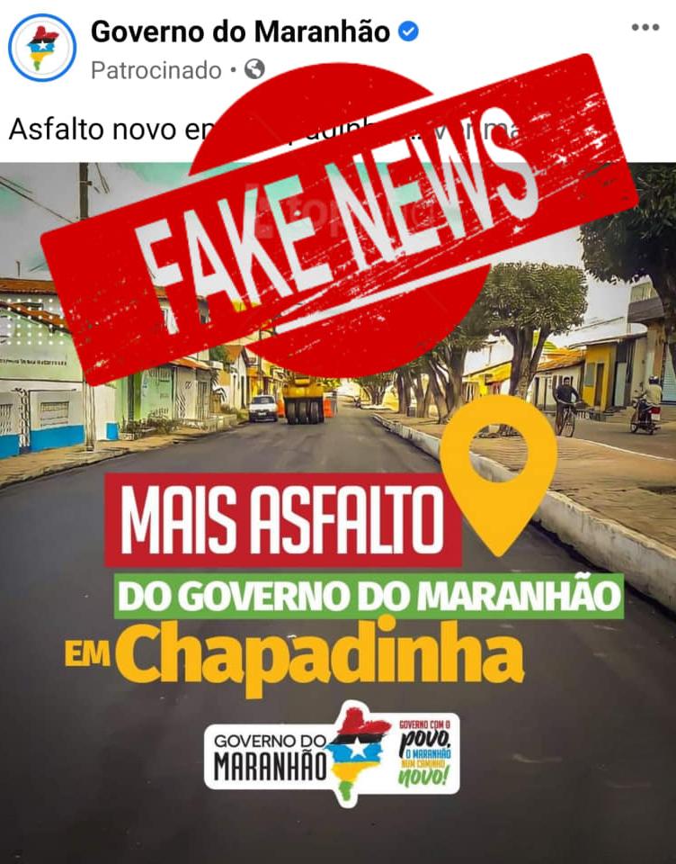 Propaganda Falsa: Pra quê isso Flávio Dino?