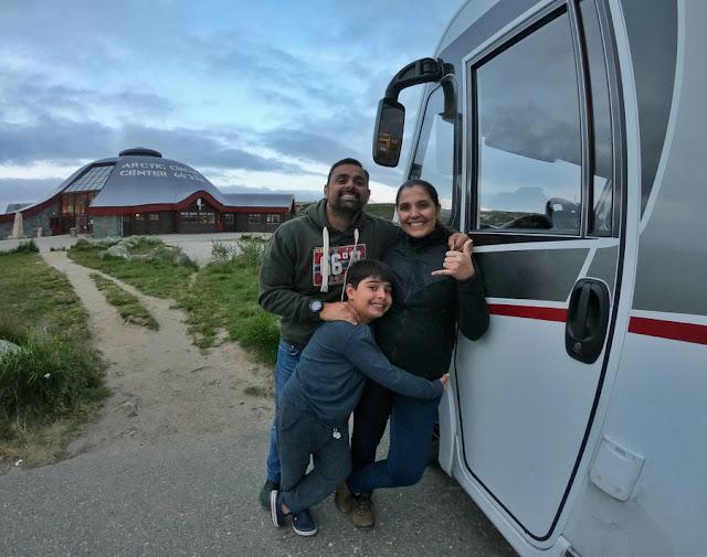 Motorhome na Noruega e Suécia