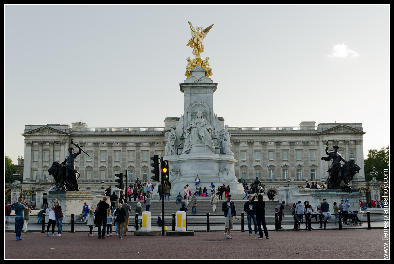 Buckingham Palace Londres (London) Inglaterra