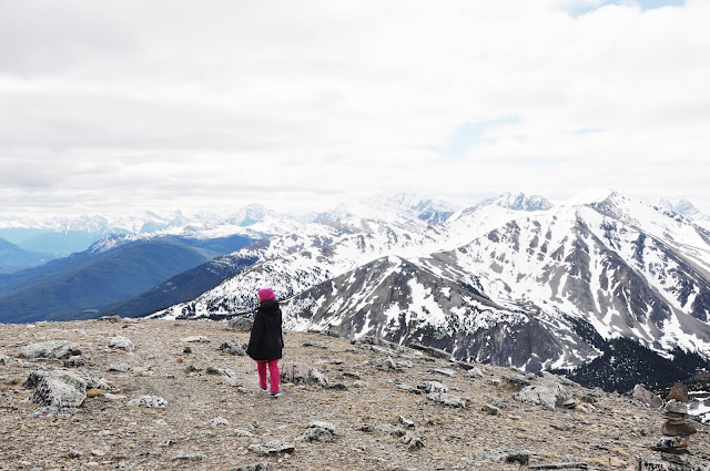 Farah H at Whistlers Mountain, Jasper National Park, Alberta, Canada