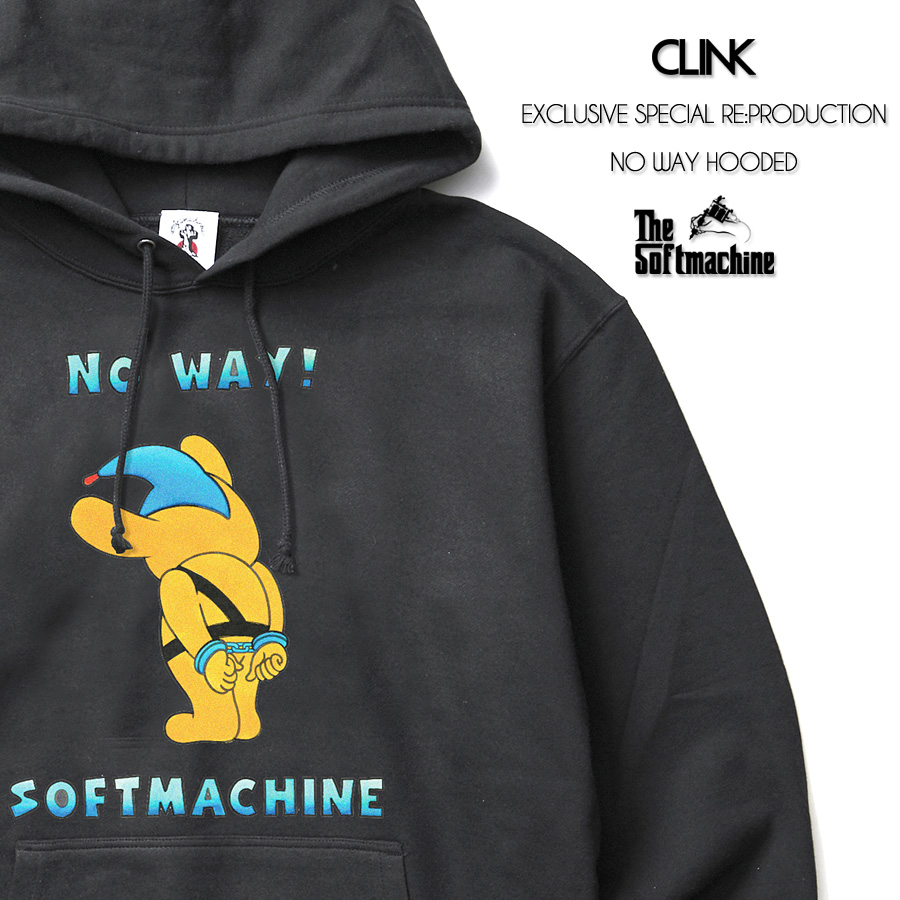 SOFTMACHINE NO WAY HOODED - CLINK EXCLUSIVE