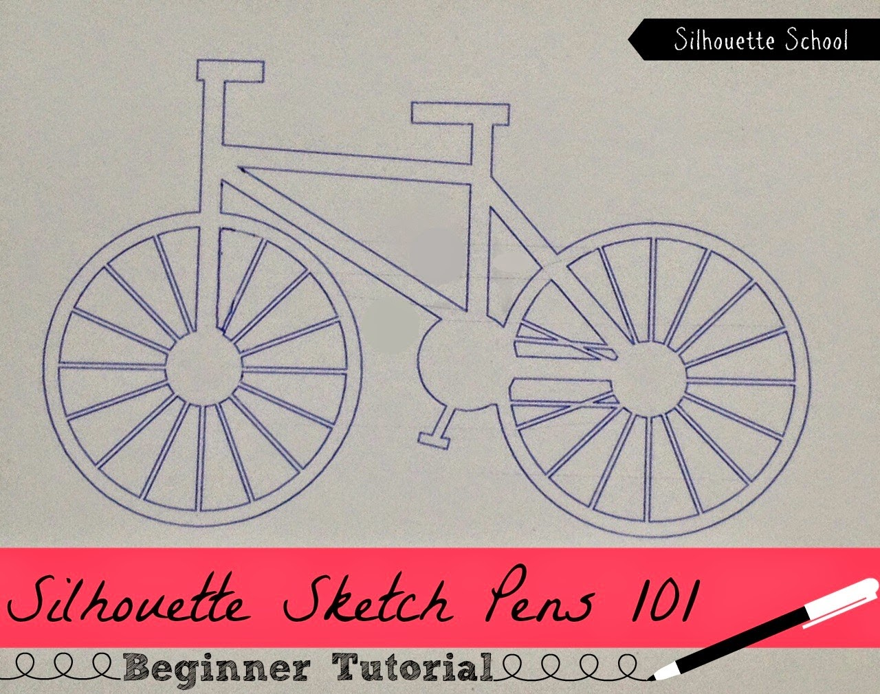 silhouette sketch pens tutorial, silhouette sketch pens, sketch pen projects, sketch pen beginners