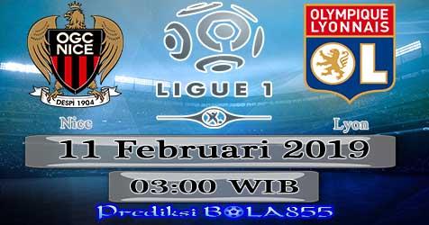Prediksi Bola855 Nice vs Lyon 11 Februari 2019