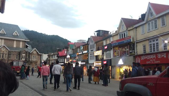 Iconic Mall Road,Shimla