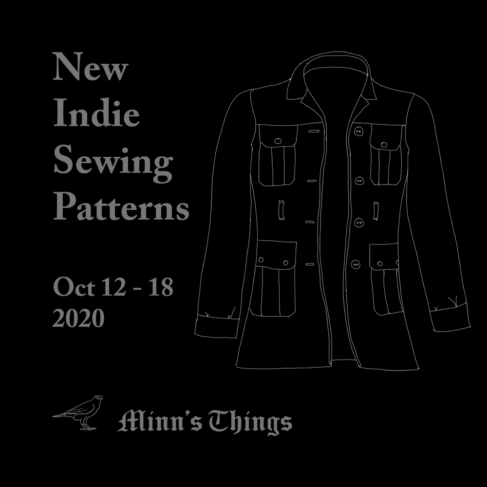 minn's things complete list all indie independet sewing designers patterns releases new october 2020 small business