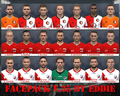 PES 2017 Facepack vol 35 by Eddie Facemaker