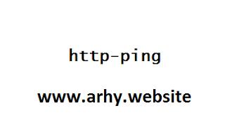 ping ssh tunnel dengan http-ping