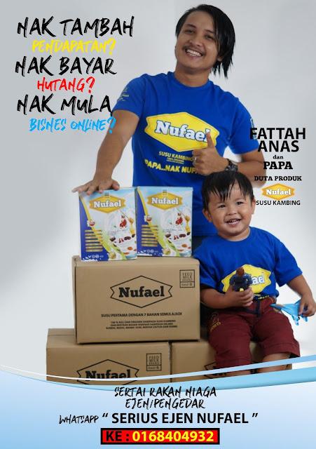 Susu Kambing Nufael dengan 7 Khasiat Semulajadi Kurangkan Masalah Bayi Kuning