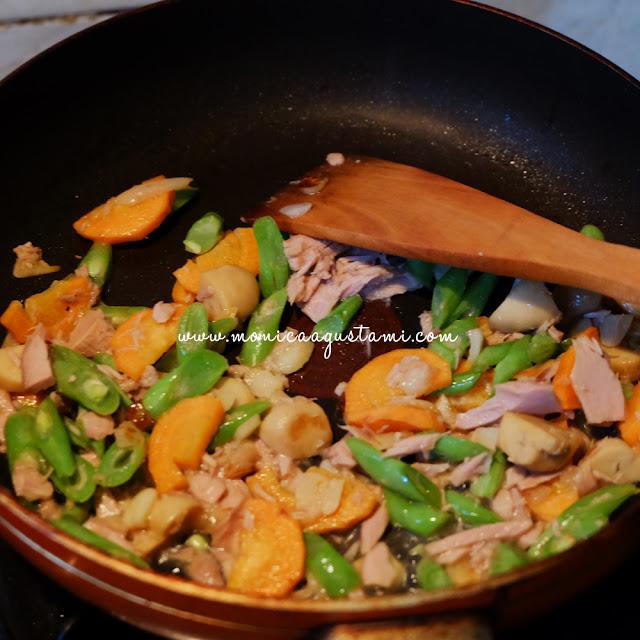 resep orak-arik sayur high protein