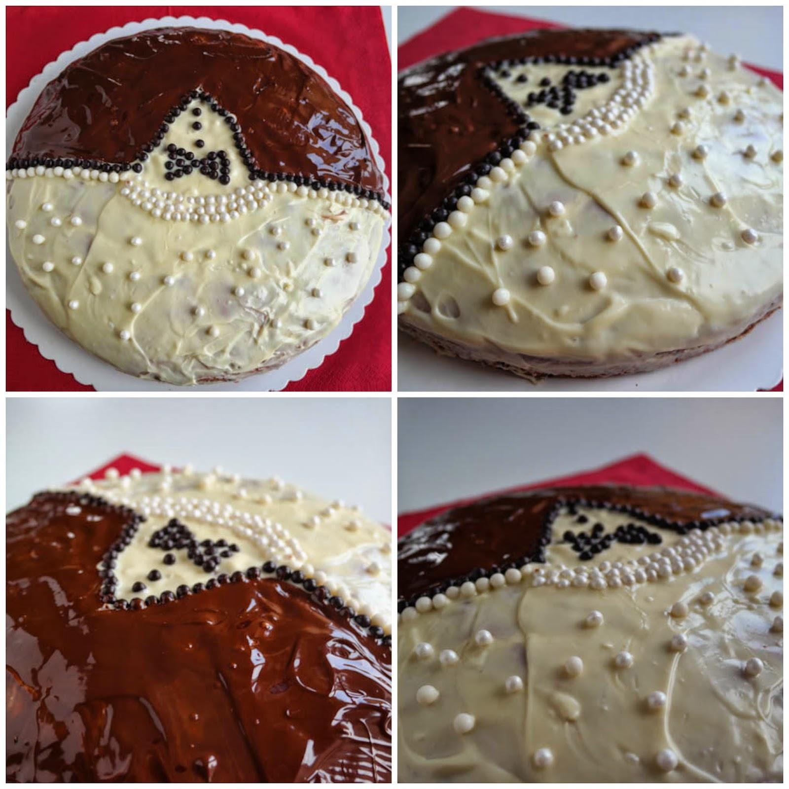 Orangen-Schokoladen-Kuchen