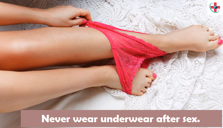 Never wear underwear after sex. See why!
