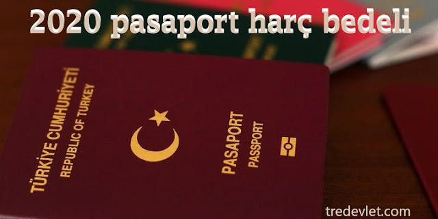 2020 pasaport harç bedeli, Pasaport harcı yıllara göre fiyatları