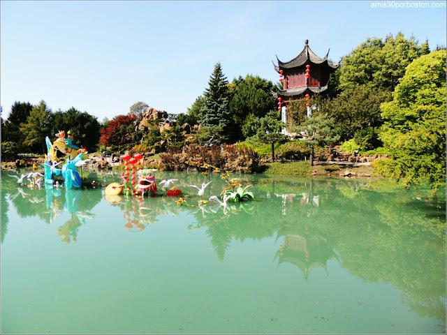 Dream Lake en el Jardín Chino, Montreal